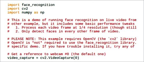 Python libraries for face recognition