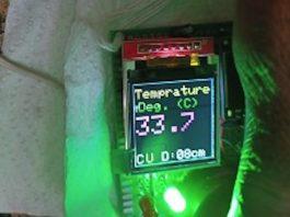 ESP32 Touchless Temperature Scanner