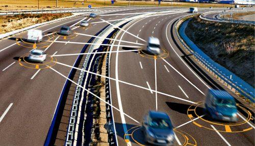 Autonomous car and self-driving concept