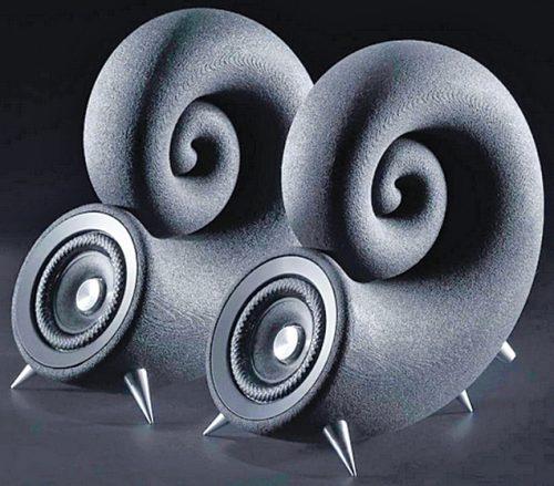 Spirula speaker made by Deeptime, Prague