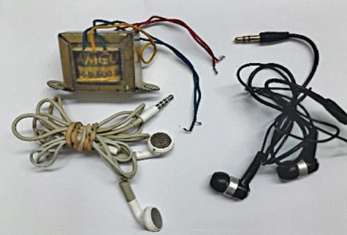 Impedance-matching transformer and earphones