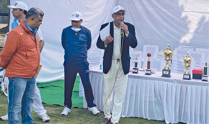 Saurabh Kumar and cricket