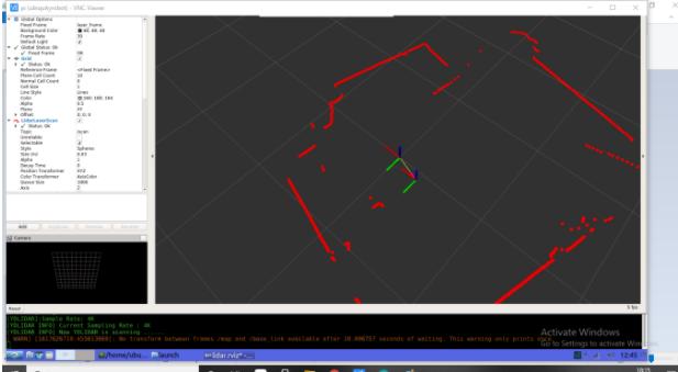 Lidar Mapping using ROS