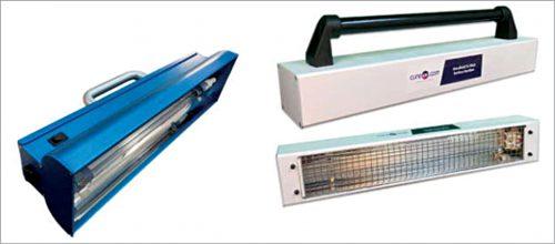 Handheld UVGI surface decontamination devices (Courtesy: American Ultraviolet/CureUV)