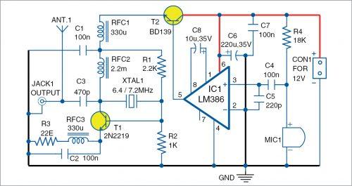 The shortwave voice transmitter