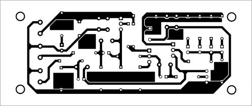 PCB layout for the white noise generator