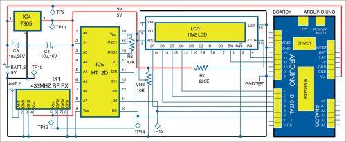 Circuit diagram of receiver