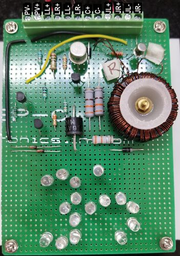 Photograph of the main PCB