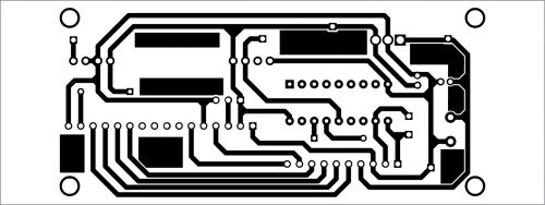 PCB layout for receiver
