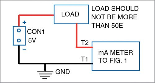 Wiring diagram for load connection