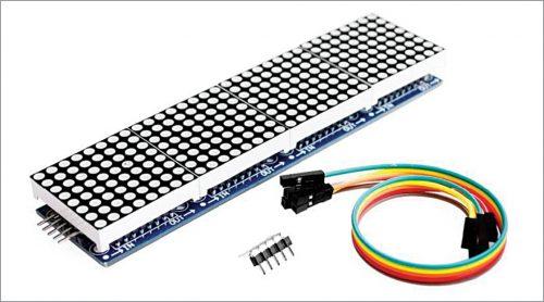 Readymade 4-in-1 8x8 dot-matrix display board