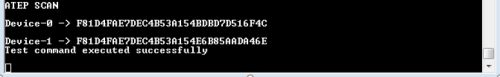 Scan Command to get Device UUIDs