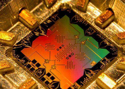 Model of the quantum processor computer