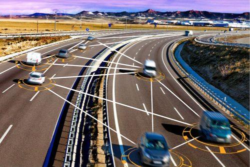 Otonom araba ve kendi kendine sürüş konsepti